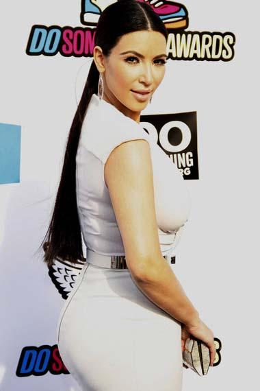 Curvy Kim Kardashian